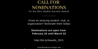 Call for Nominations banner