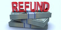 image of refunded cash