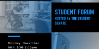 Image of Student Forum info