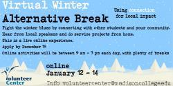 Virtual Alternative Break banner