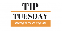 Tip Tuesday Logo for Staying Safe