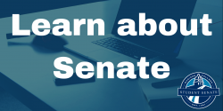 Learn about Senate banner
